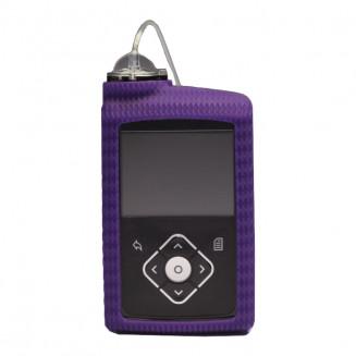 Θήκη αντλίας ινσουλίνης MiniMed 640G, σιλικόνης, μωβ - Medtronic